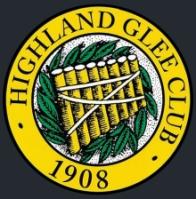 Highland Glee Club logo